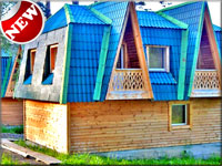 дом отдыха коттедж на сутки недорого, 45 км дегтярск